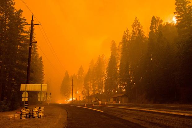 Le plus gros incendie de Californie génère son propre climat