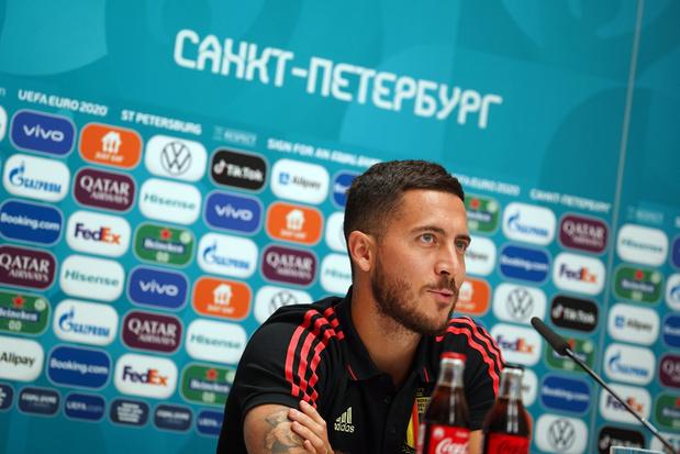 """Euro 2020: Eden Hazard a """"douté sur le fait de pouvoir revenir à 100%"""""""