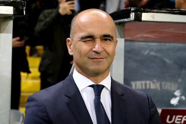 """Roberto Martinez donne un """"10 sur 10"""" aux Diables dans l'approche du match"""
