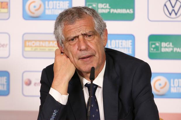 Portugese bondscoach Santos: 'België is één van de favorieten op het EK'