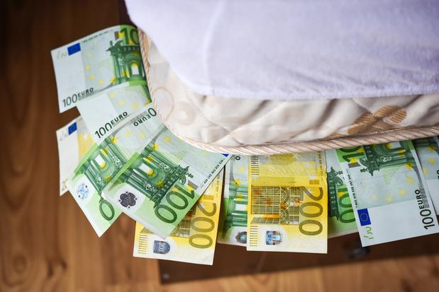Le patrimoine financier des Belges en hausse de 45,5 milliards d'euros en 2020