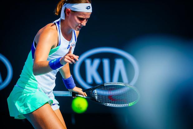 Fin de parcours à Melbourne pour Greet Minnen battue par Elena Rybakina