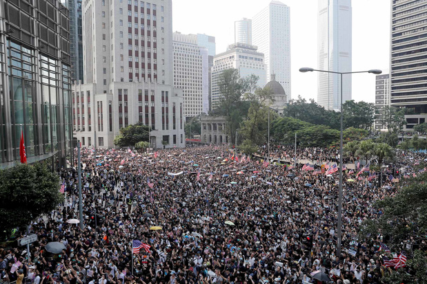 Amerikaans congres neemt wetgeving aan om manifestanten Hongkong te steunen
