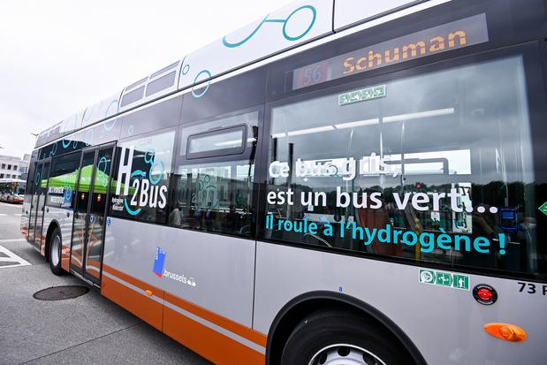 La STIB a dévoilé son premier bus à hydrogène