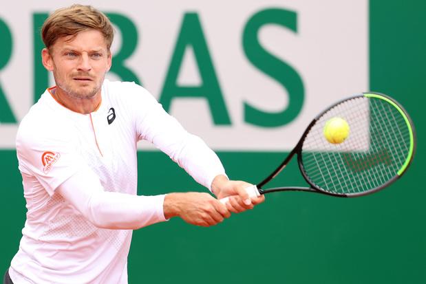 ATP Monte Carlo: Goffin voorbij Zverev, Djokovic uitgeschakeld door Evans