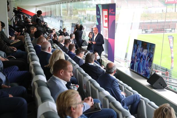 Eleven Sports presenteert plannen voor Jupiler Pro League