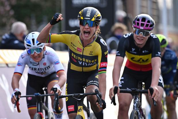 Marianne Vos wint Gent-Wevelgem: 'Ik had vertrouwen in mijn sprint'