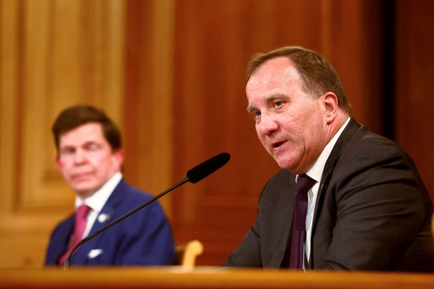 Zweeds parlement beslist woensdag of Stefan Löfven opnieuw premier mag worden