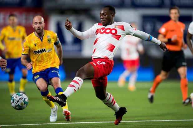 Le Standard sans Jackson Muleka face à Benfica