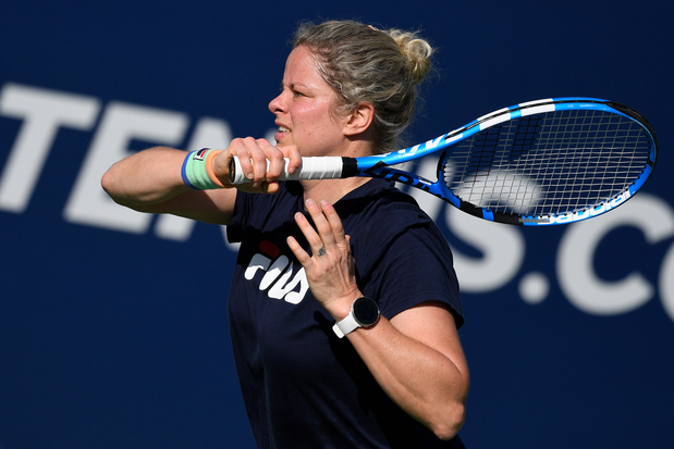 """Kim Clijsters: """"J'ai le sentiment que mon tennis s'améliore"""""""