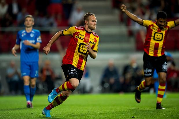 Landskampioen Racing Genk lijdt 3-1 nederlaag in Mechelen