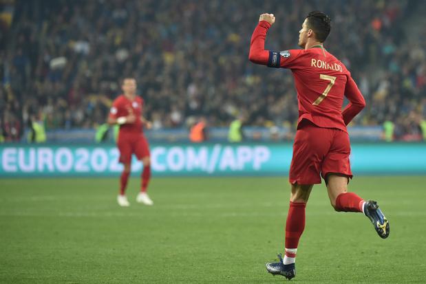 L'Ukraine qualifiée après son succès devant le Portugal de... CR700