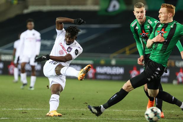 Anderlecht kan niet scoren bij Cercle: 0-0