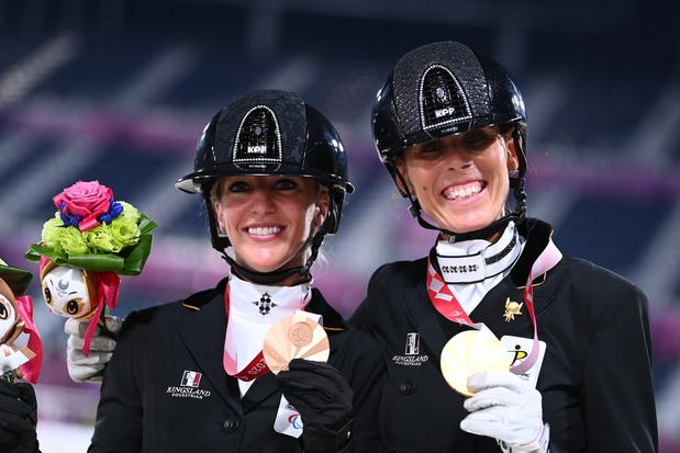 Paralympiques: Michèle George et Manon Claeys apportent de l'or et du bronze à la Belgique