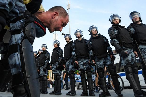 L'UE fustige les arrestations à Moscou pendant une manifestation