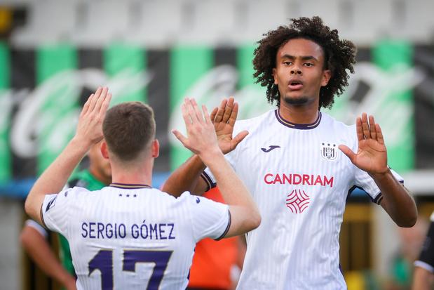Joshua Zirkzee (Anderlecht): 'Ik wilde me te graag aan Nederland laten zien'