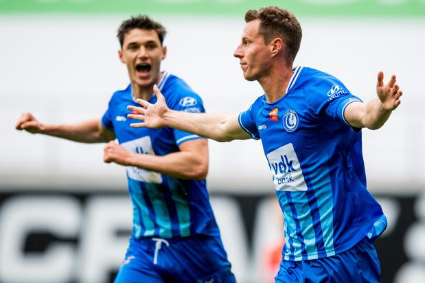AA Gent doet opnieuw mee voor Europees ticket na zege tegen KV Oostende