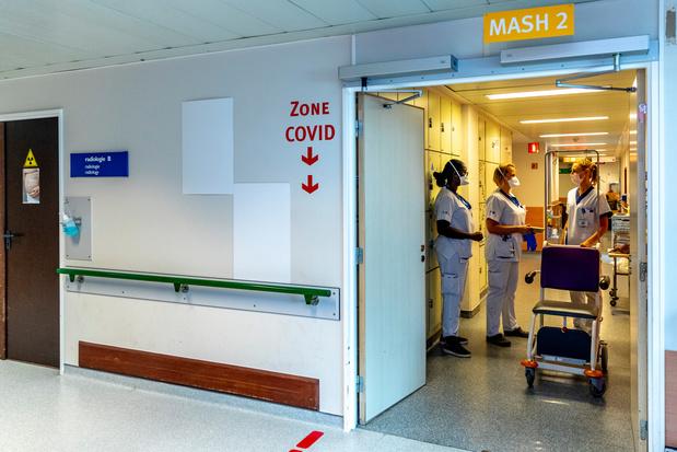 Covid: 985 lits d'hôpitaux occupés en moins par rapport au pic du 3 novembre (infographies)
