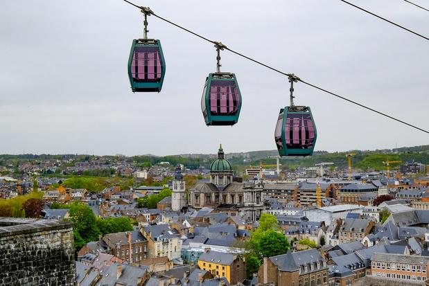 Le téléphérique de Namur est officiellement en fonction