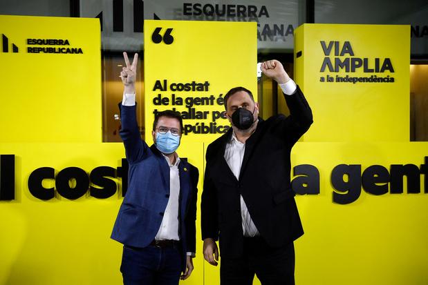 Crise en Catalogne: la gauche indépendantiste ERC négociera avec la droite comme la gauche