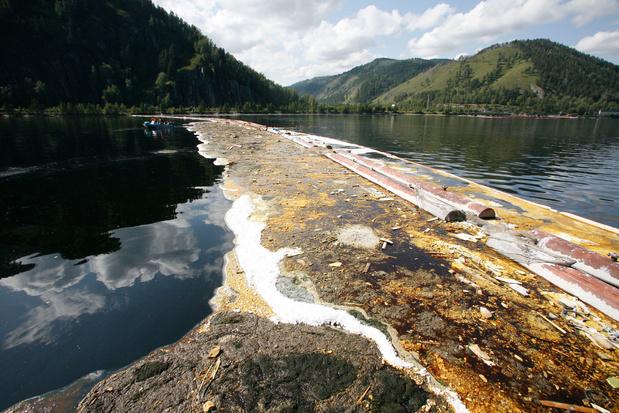 Recordboete na olielek in Siberië