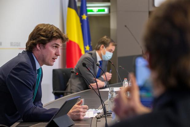 La Belgique remettra son plan de relance à la Commission européenne vendredi