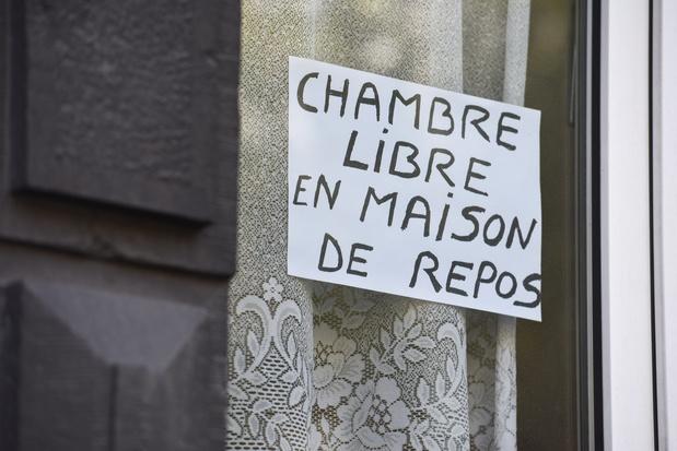Le nombre de résidents en maisons de repos de Bruxelles et de Wallonie a diminué de 6.5%
