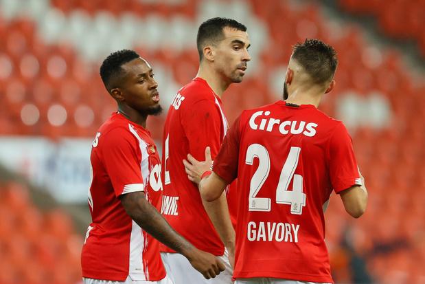 Europa League: le Standard déjà dos au mur, l'Antwerp pour le 9 sur 9