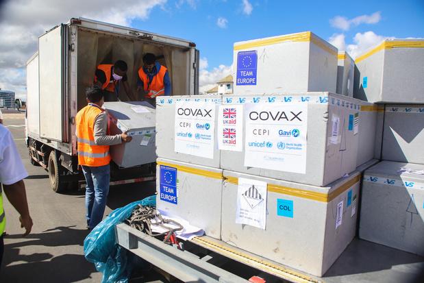 Covid : la Belgique répond à l'appel aux dons de Covax, avec 4 millions de doses