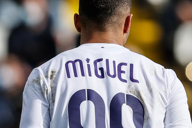 Les maillots 'Miguel' d'Anderlecht rapportent 6.381 euros à la lutte contre la leucémie