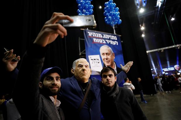 Nétanyahou revendique la victoire aux élections législatives