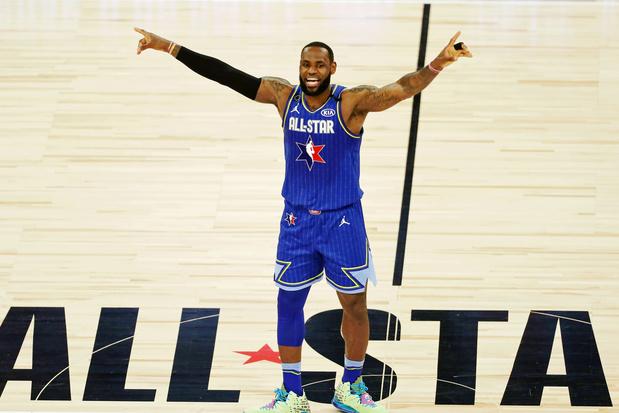 La Team LeBron remporte le 69e All-Star Game