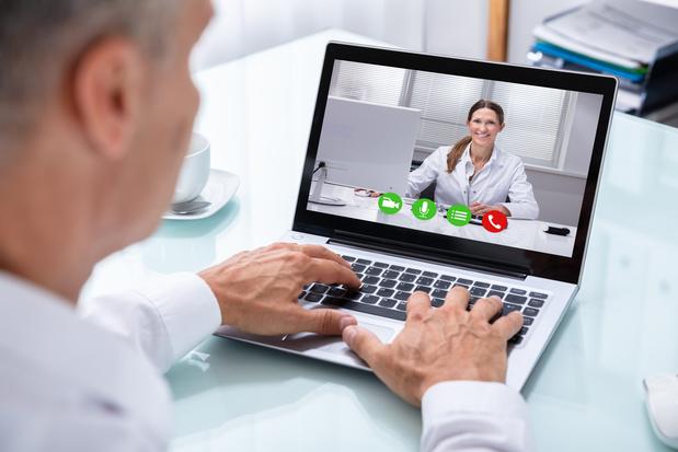 La consultation médicale en vidéo progresse en Belgique