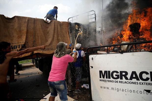 """Venezuela: la Croix Rouge annonce la distribution d'""""aide humanitaire"""" dans 15 jours"""