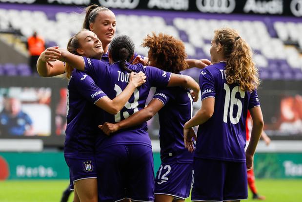 Clasico: Anderlecht s'impose avec autorité face au Standard (2-0)
