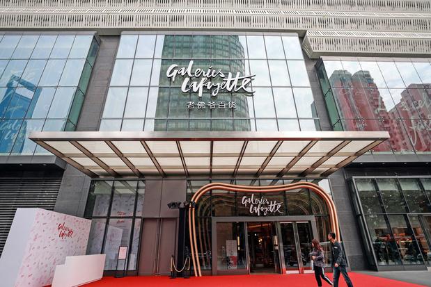 """Les Galeries Lafayette ouvrent un nouveau """"pont"""" avec leurs clients chinois"""