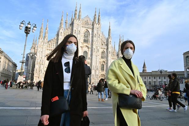"""Coronavirus: l'OMS salue les mesures """"courageuses"""" de l'Italie, un """"véritable sacrifice"""""""