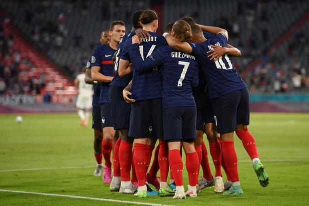 Frankrijk opent EK met knappe zege in Duitsland