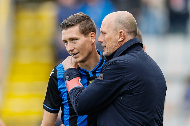 Hans Vanaken, Philippe Clement et tout le staff du Club Bruges positifs et absents en Europa League