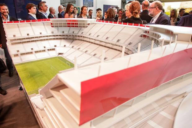 Stade national: Ghelamco saisit le Conseil d'Etat