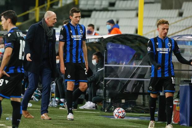 Coach Clement verdedigt Vanaken: 'Ongelukkig contact met Beck'