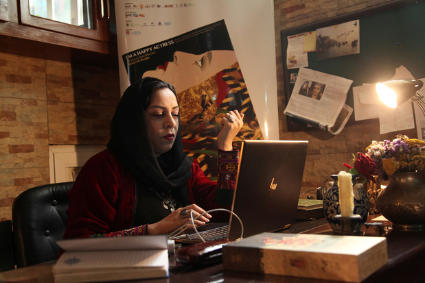 Destins de femmes: Roya Sadat, réalisatrice des femmes d'Afghanistan