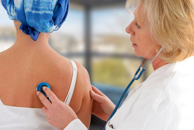 Meeste kankerpatiënten hebben geen verhoogd risico van covid