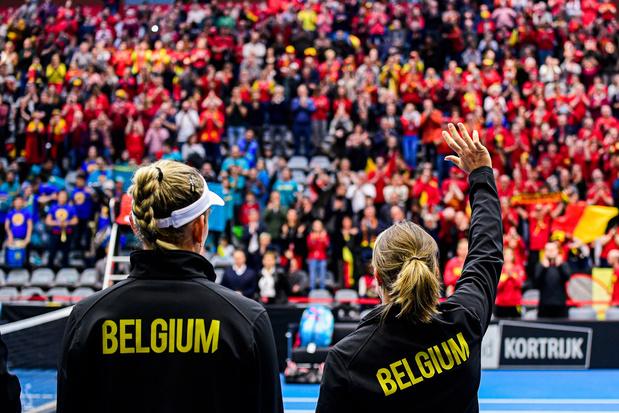 Fed Cup: la Belgique avec l'Australie et la Biélorussie