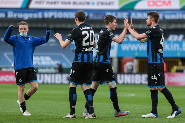 Bruges peut fêter son titre à Anderlecht