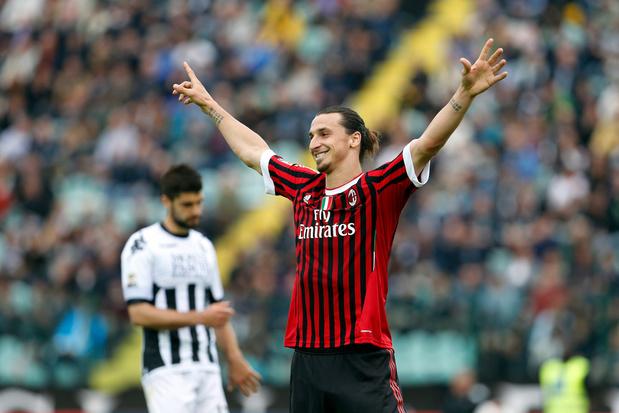 Ibrahimovic présenté à la presse par l'AC Milan vendredi