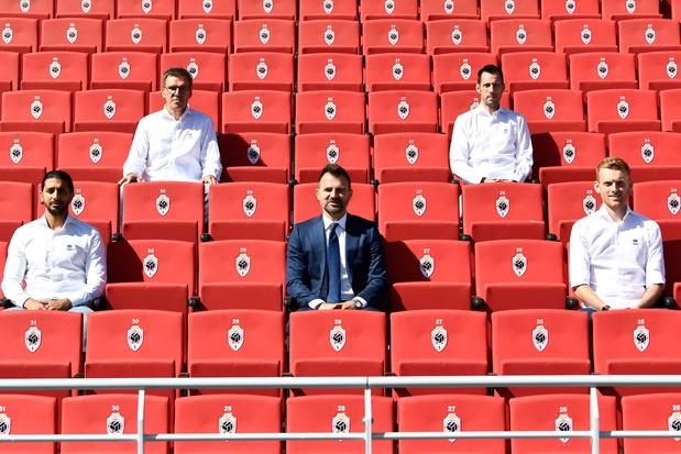 Edward Still, assistent van Leko: 'Voor het eerst was Antwerp een club met een echte winnaarsmentaliteit'