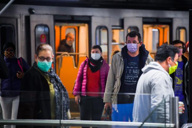 Déjà 338 amendes émises pour non-port de masque dans les transports