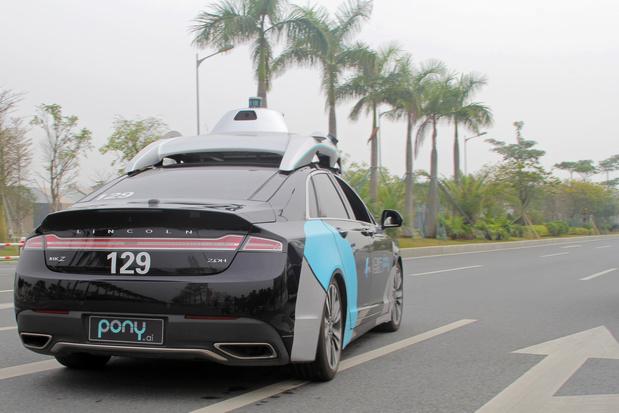 Toyota investeert 400 miljoen dollar in robottaxi Pony.ai