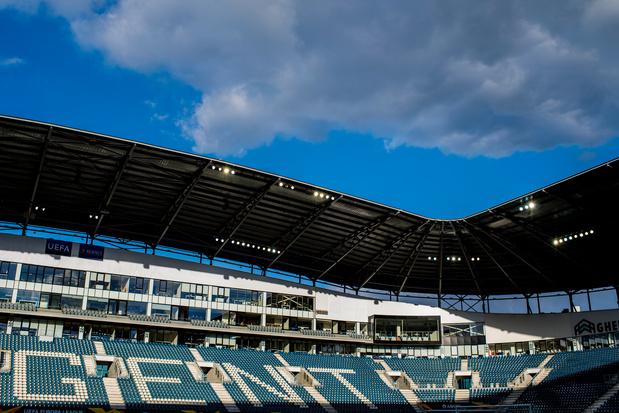 Tempête Ciara: les matchs de Gand pas compromis pour l'instant, malgré l'effondrement d'une partie du toit